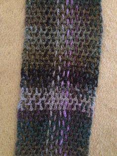"""""""Woven"""" scarf - Crochet"""