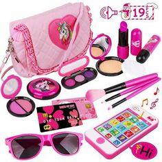 Golf Cart Discover Advertisement - Kids Makeup Kit Girl Pretend Play Makeup & My First Purse Toy for Toddler Gifts Little Girl Makeup Kit, Makeup Kit For Kids, Little Girl Toys, Baby Girl Toys, Kids Makeup, Little Girl Gifts, Makeup Set, Toys For Girls, Baby Dolls
