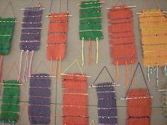 burlap weaving