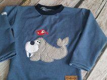 4 x Stickdatei Doodle - Seelöwe - Seehund