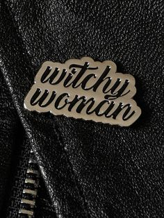 Witchy Woman Enamel Pin - Gypsy Warrior