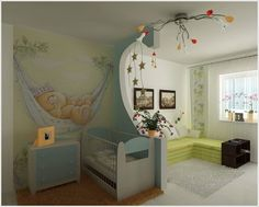 22 Baby Room Designs and Beautiful Nursery Decorating Ideas- build a separator in a square/rectangular room- so easy! and gives you a sitting room! Baby Bedroom, Nursery Room, Nursery Decor, Baby Rooms, Kids Rooms, Room Baby, Nursery Ideas, Girl Room, Bedroom Ideas