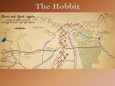 The Hobbit - Mapping Bilbo's Journey