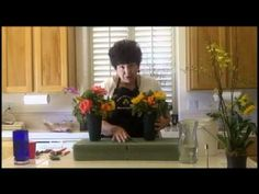 Flower Arranging - Cemetery Flowers