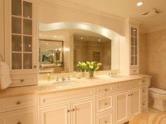 Like the cabinets/linen closet