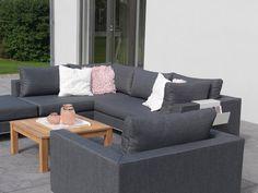 KUBIK Lounge Modul für Garten, Silvertex #garten #gartenmöbel ...