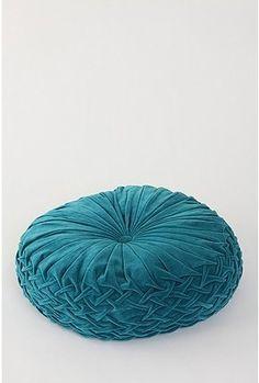 Round Pintuck Floor Pillow - StyleSays