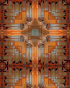 Pipe Organ cross by Weldon Schloneger, via Dreamstime