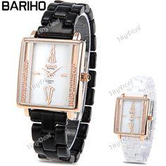 http://www.tinydeal.com/it/barihoelegant-female-quartz-watch-with-ceramic-band-p-109536.html  (BARIHO) Fashion Rectangle Case Quartz Analog Wristwatch Timepiece