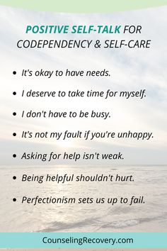 Codependency Quotes, Codependency Recovery, Mental And Emotional Health, Mental Health Awareness, Mental Health Recovery, Writing Exercises, Positive Self Talk, Addiction Recovery, Self Improvement Tips