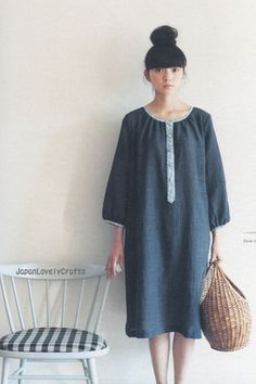 ADULT COUTURE BY YOSHIKO TSUKIORI - STYLISH AND LOVELY COORDINATE - JAPANESE SEWING PATTERNS BOOK FOR WOMEN 17   by JapanLovelyCrafts