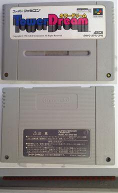 #Famicom :  Super Famicom :  Tower Dream SHVC-AT9J-JPN http://www.japanstuff.biz/ CLICK THE FOLLOWING LINK TO BUY IT ( IF STILL AVAILABLE ) http://www.delcampe.net/page/item/id,0363657965,language,E.html