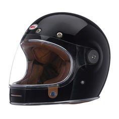 Bell motorcycle helmet, black