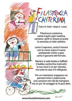 Filastrocca canterina - Gianni Rodari