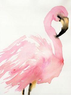 flamingo. illustration by inslee haynes