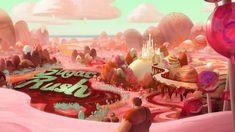 Wreck It Ralph - concept art and color keys