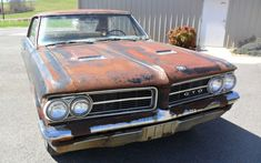 Tri-Power Project: 1964 Pontiac GTO - http://barnfinds.com/tri-power-project-1964-pontiac-gto/