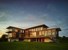 Sagaponack Modern Residence Exterior