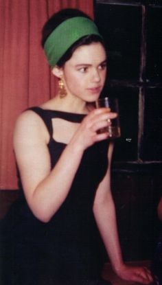 Edie Sedgwick, when she still had thoughts (as opposed to amphetamine-static). It hurts to look at her.