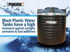The Black Color #PenguinTanks absorb maximum sunlight & mitigates the growth of algae to a large extent.