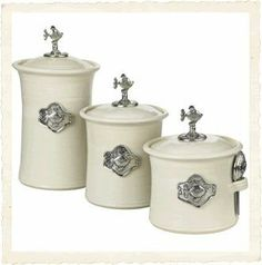 Tin Woodsman Crosby & Taylor Canister Set Whipping Cream - F by Crosby ...