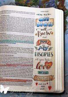 Diana Nguyen, journaling, Bible, illustrated faith