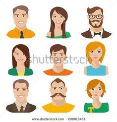 Face Vecteurs de stock et clip-Art vectoriel | Shutterstock