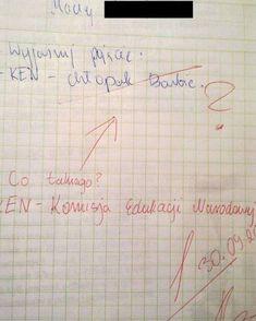 Trudno uwierzyć, co na klasówkach potrafią pisać (i nie tylko!) polscy uczniowie. Oglądając te sprawdziany, uśmiejecie się do łez, zwłaszcza że poczucia Weekend Humor, Funny Mems, Meme Lord, Wtf Funny, Best Memes, Haha, Funny Pictures, Jokes, Thats Not My