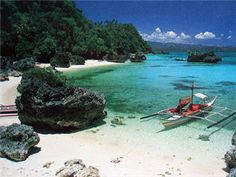 A romantic, secluded cove on the northern tip of the island.