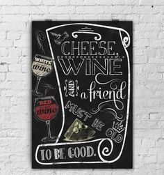 Popular items for cheese wine on Etsy