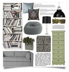 """Untitled #163"" by zalarupar ❤ liked on Polyvore featuring interior, interiors, interior design, home, home decor, interior decorating, French Country, Original BTC, Brewster Home Fashions and Pillow Decor"