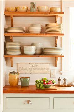 Open Shelves #Kitchen Open #Shelves