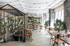 Restaurante Väkst / Genbyg