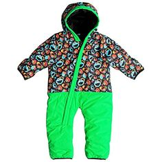 Quiksilver  Boys Little Rookie Baby Snow Suit 2017 Sesame Street Cookie 1218M ** Click on the image for additional details.(This is an Amazon affiliate link and I receive a commission for the sales)