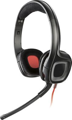 Plantronics - GameCom 318LX Wired Stereo Gaming Headset for Xbox One - Black
