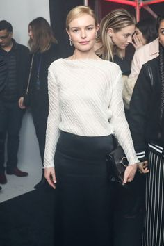 Kate Bosworth. Calvin Klein.