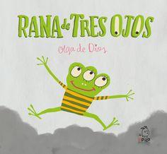 """Queridos amigos y amigas: ¡YA ESTÁ DISPONIBLE """"RANA DE TRES OJOS""""! Tercer álbum de la colección Monstruo Rosa. Rana de Tres Ojos nos habla del valor de la conservación del medio ambiente y del desarrollo sostenible."""