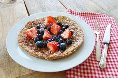 #Havermoutpannenkoek dit lijkt me een lekkere variatie op mijn #havermoutpap #ontbijt!