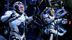 'Pacific Rim: Jaeger Pilot', A Simulation of Piloting a Giant Robot for the Oculus Rift Virtual Reality Headset