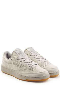 1bf6a1065e3bb REEBOK Club C 85 Sneakers In Suede.  reebok  shoes