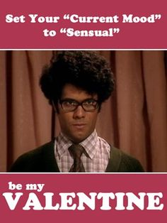 {An Amber-Colored Life} Nerdbomb Valentines - The IT Crowd