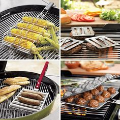 Grill - Cool Gadgets for my backyard bbq, of course! Grill Outdoor, Outdoor Cooking, Kitchen Tools And Gadgets, Cooking Gadgets, Kid Cooking, Kitchen Supplies, Barbacoa, Grill Accessories, Kitchen Accessories