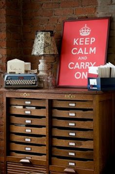 KEEP CALM AND CARRY ON..........