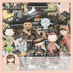 Kit Digital Happy Halloween By Simone Rocha
