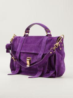 Shop PROENZA SCHOULER  medium 'PS1' satchel from Farfetch