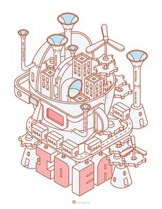 The IDEAS Conference / Key Visual Illustration on Behance