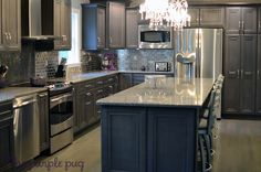 My favorite kitchen to drool over from the @Kristy McCarthy  #FavoriteThingsGiveaway