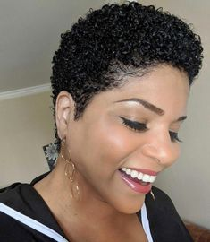 natural hairstyles for black women - Hairstyles Natural Hair Short Cuts, Natural Hair Gel, Short Natural Haircuts, Tapered Natural Hair, Pelo Natural, Natural Hair Styles For Black Women, Short Curly Hair, Short Hair Cuts, Natural Hairstyles
