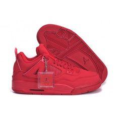 Nike Air Jordan 4 Retro Red Iv Womens Shoes New Online Chirstmas