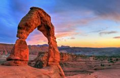 Best national parks to visit this spring - Arches in Utah, maybe third.